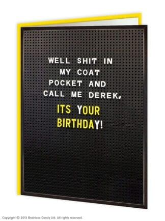 Naughty Birthday